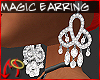 [m] Diamond Twist Earrng