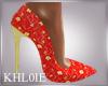 K spling fling heels
