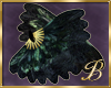 Burlesque black feather