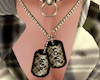 D Tag Neckless Her