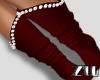 [zuv] santa socks red