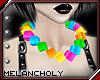 Cubes Necklace: Kawaii