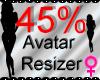 *M* Avatar Scaler 45%