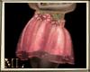 Rose gold night skirt