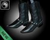 [8Q]MARIACHI Black Boots