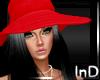 IN} Rouge Hat/Noir Hair