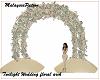 Twilight wedding arch