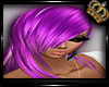 Silky Purple Short Hair