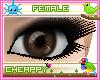 Dark Brown Female Eyes