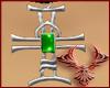 1017 Cross Emerald M