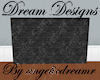 Dark Stone Room Devider
