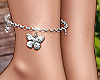 E* Butterfly Anklet R