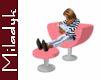 MLK Pink Chair