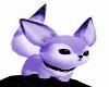 Purple Lil Fox On Head