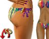 Rainbow String Bikini