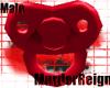 {MR} Red Male Binkie