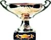 Gold star trophy sticker