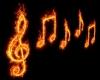 Music Symbols Glow Neon