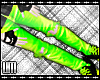 LToxic Green Ripped Jean