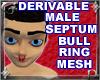 Male Septum Ring Mesh