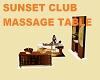 SUNSET CLUB MASSAGE TABL