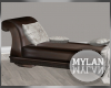 ~M~ | Leather Chaise