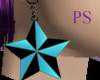 [PS] Blue Star earrings