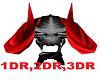 Devil Skull Red Light
