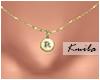 |K Tiny Necklace R