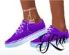 ~K~ Tennis Shoes Purple