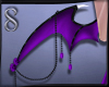 -S- Succubus Wings Purp