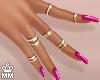 Nails + Rings