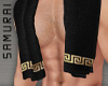 #S Fitness Towel #Nero