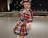 (K) trench coat dress  P