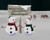 !Dancing Snowmen Sign