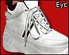 E.Cuffed Up Shoe