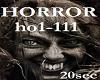 HORROR (HO1-111)20sec
