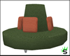 Green Round Couch