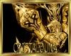 Golden armor gloves (M)