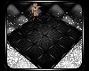 [V] Caged Black Fur Rug
