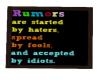 [g] Rumors saying