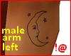 !@ Male tattoo arm left