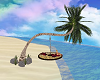 Beach Palm Tree Swing