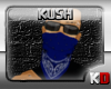 $KD$Blue Facial Bandana