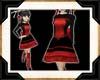 [T]ADDISON Scarlet Dress