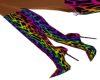 Rainbow leopard boots