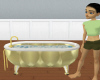 golden luxuary tub