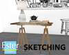 SKETCH STOOL TABLE