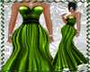 XXL GREEN PROM GOWN