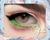 GÌ·. Color Lashes Green